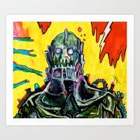 Trap Jaw Art Print