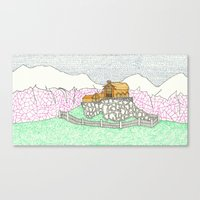 Edoras Canvas Print