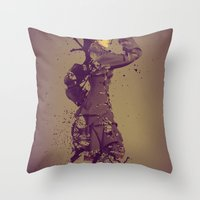 Beauty Obsolete Throw Pillow