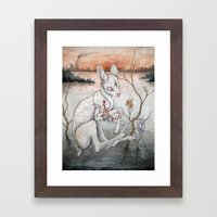 Ghosts From The Flood Pl… Framed Art Print