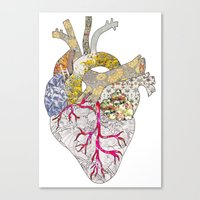 My Heart Is Real Canvas Print