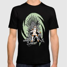 Game of Clones SMALL Mens Fitted Tee Black