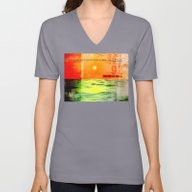 Unisex V-Neck featuring Christopher Columbus 149… by Phil Perkins