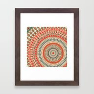 Mandala 155 Framed Art Print