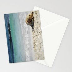 beach dog Stationery Cards