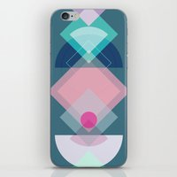Geometric Play 1 iPhone & iPod Skin