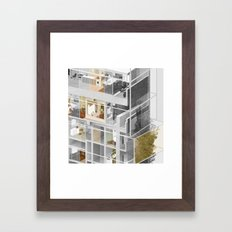 Toronto/Damascus 2/2 Framed Art Print