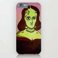 Prophets of Fiction - Mary Shelley /Frankenstein iPhone 6 Slim Case