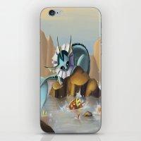 Vaporeon iPhone & iPod Skin