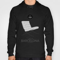 Chairs - A tribute to seats: I'm a Barcelona (poster) Hoody
