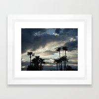 Palms Framed Art Print