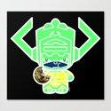 Chibi-Fi Galactus Canvas Print