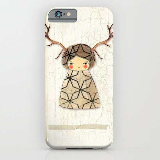 Deer paperdolls iPhone & iPod Case