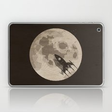 Around the Moon Laptop & iPad Skin
