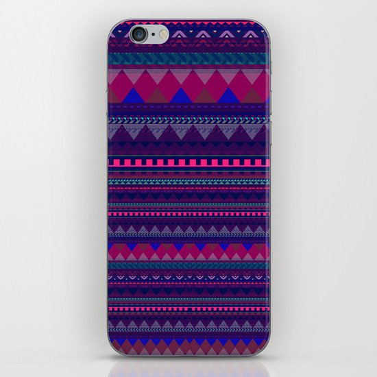 KNITTED AZTEC PATTERN  iPhone & iPod Skin