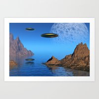 It's A Great Day For Fly… Art Print