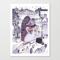 Dreams of the Ball Canvas Print