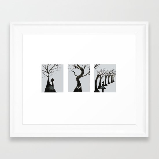 Trouble will find me Framed Art Print