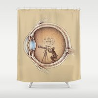 Extraordinary Observer Shower Curtain