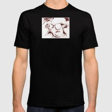 The Visionary Sepia Black Mens Fitted Tee SMALL