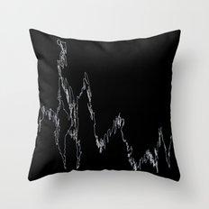 LINGERING FEVER Throw Pillow