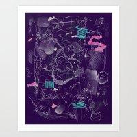 7-14-15 invert Art Print