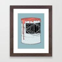 PREMIUM PAINT Framed Art Print