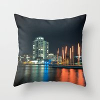 Grand Canal Theatre Throw Pillow