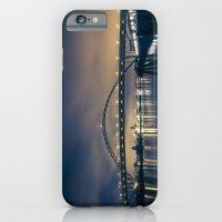 Fremont Bridge at Night iPhone 6 Slim Case