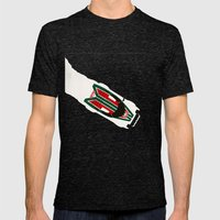 Stratos Mens Fitted Tee Tri-Black SMALL