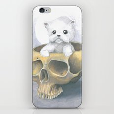i ated all the brains iPhone & iPod Skin