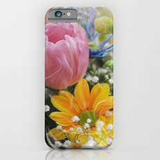 Easter Flowers Slim Case iPhone 6s