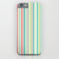 Candy Stripe Pastels iPhone 6 Slim Case