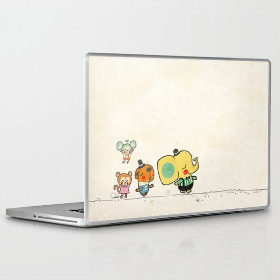 Walking with you Laptop & iPad Skin