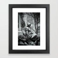 Winged Justice Framed Art Print