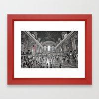 A Moment of Reflection Framed Art Print