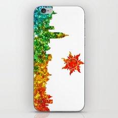 Glitter City iPhone & iPod Skin