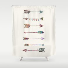 seven arrows Shower Curtain