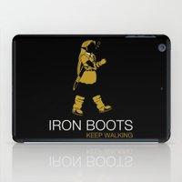 Iron Boots iPad Case