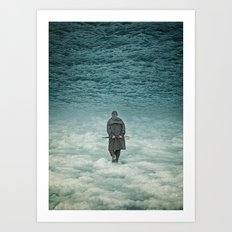 Up Is Down Art Print