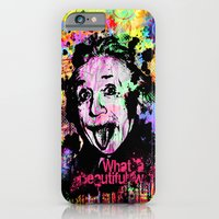 iPhone & iPod Case featuring What a beautiful world by Zoé Rikardo