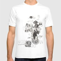 Norwegian Wood Film Poster Mens Fitted Tee White SMALL