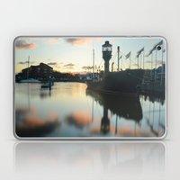 Hull Marina At Sunset Laptop & iPad Skin