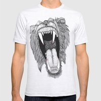 Roar! Mens Fitted Tee Ash Grey SMALL