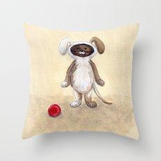 I'm A Dog! Woof! Throw Pillow