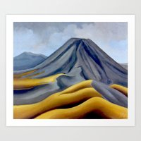 Ngauruhoe - Mount Doom 2 Art Print