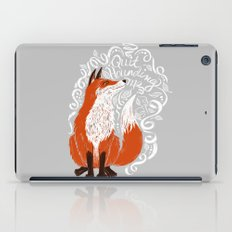 The Fox Says iPad Case