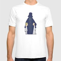 May The Love Be With You Mens Fitted Tee White SMALL