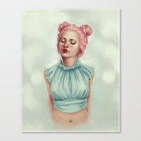 Doll Heart Canvas Print