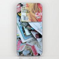 magazines iPhone & iPod Skin